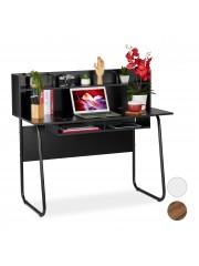 Jago24 Jemu íróasztal, számítógépasztal polcokkal 00510