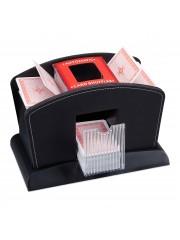 Tsideen Kártyakeverő gép elektromos műbőr kárpittal 4 paklihoz 10019511