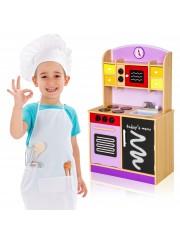 Lila Gyermek konyha mikrohullámú sütővel