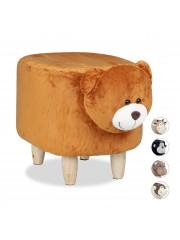 Medve mintás gyerek puff, ülőke