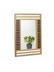 Meera bambusz fürdőszobai fali tükör