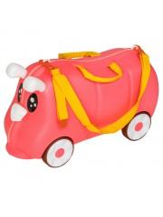 Mefi gurulós gyerek bőrönd rózsaszín