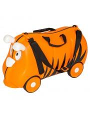 Mefi gurulós gyerek bőrönd tigris