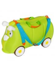 Mefi gurulós gyerek bőrönd zöld