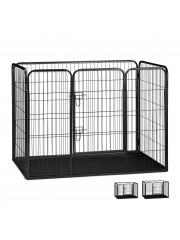 Point4u Mesta 4 szögletes kutya, macska kennel XL 100100680