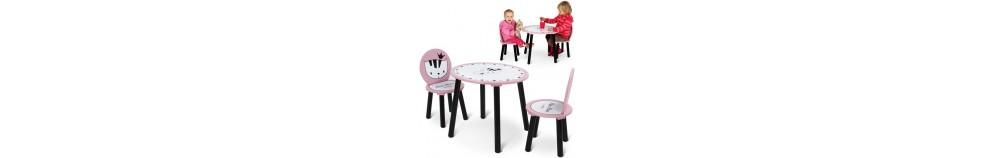 Gyerekasztal és szék