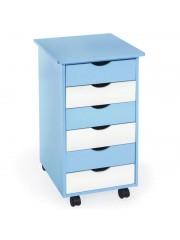 Point4u Alfonz görgőlábas gyermek komód kék 100100190