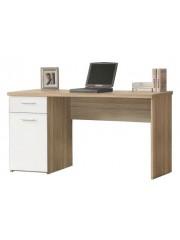 Jago24 Netti íróasztal tölgy/fehér 00659