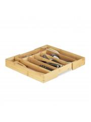 Jago24 Összecsukható bambusz evőeszköztartó 40 cm 00734
