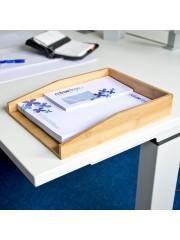 Asztali irattartó tálca bambuszból