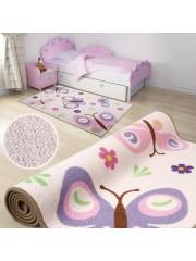 Pillangós 200x290cm gyerekszobai szőnyeg