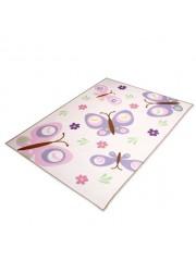 Pillangós 120x170cm gyerekszobai szőnyeg