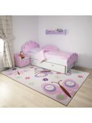 Pillangós 160x230cm gyerekszobai szőnyeg