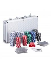 Point4u Póker készlet 300 db chippel ezüst alumínium táskában II 100100708