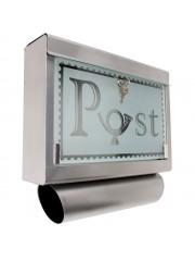"""""""Post"""" postaláda újságtartóval"""