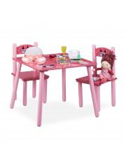 Point4u Princess 3 részes gyerekasztal és szék szett 100100730