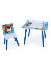 Point4u Puppy 2 részes gyerek asztal és szék szett, rajzasztal 100100748
