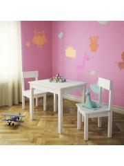 Snowy 3 részes gyerek asztal és szék szett