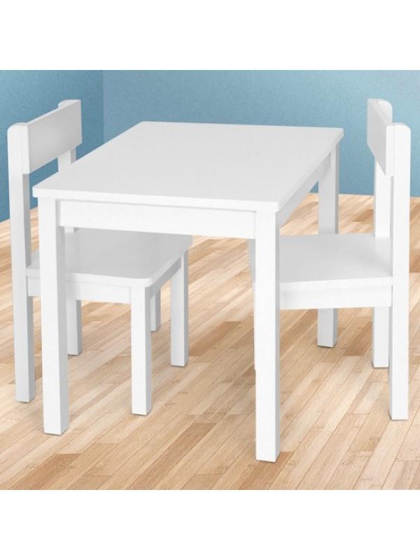Snowy 3 részes gyerek asztal és szék szett Gyerekasztal és