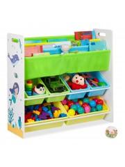 Point4u Soma Gyerek Polc Játék tároló szekrény B 10030550