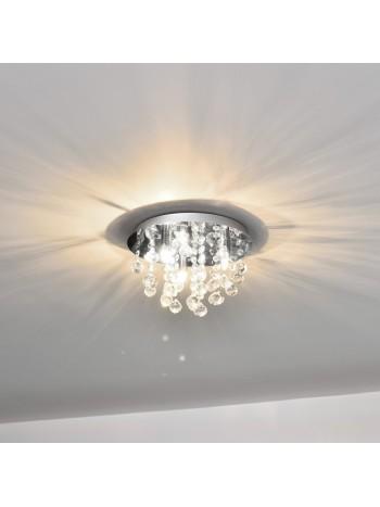 Trio mennyezeti lámpa, kristály lámpa