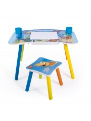 Jago24 Ocean 2 részes gyerek asztal és szék szett, rajzasztal 00693