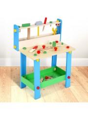 Woody gyermek barkácsasztal kiegészítőkkel